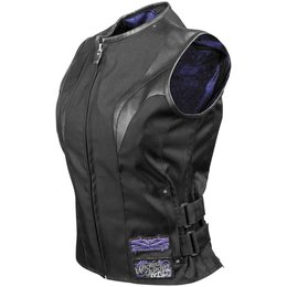 Black Speed & Strength Womens Wicked Garden Textile Vest 2013