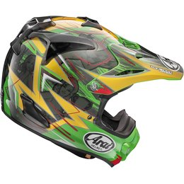 Arai VX-Pro4 Tickle Trophy Girl MX Motocross Helmet With Visor Green