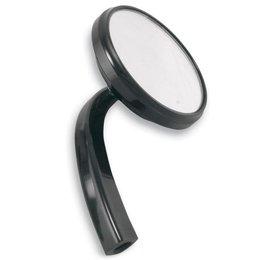 Alloy Art Shooter Mirror Right Black For Harley Davidson