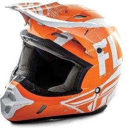 Fly Racing Kinetic Burnish Helmet Orange