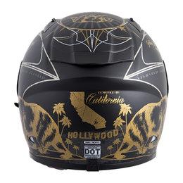 Scorpion EXO-R710 EXOR 710 Golden State Full Face Helmet Black