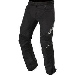 Alpinestars Mens Raider Drystar Lined Armored Textile Riding Pants Black
