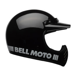 Bell Powersports Moto-3 Classic DOT ECE Approved MX Motocross Helmet Black