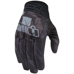 Icon Mens Anthem Primary Touchscreen Textile Gloves Black