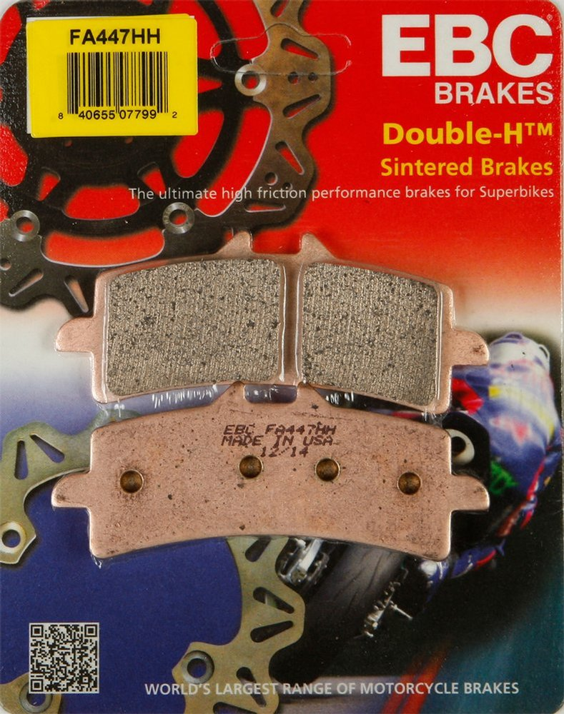 FRONT /& REAR EBC HH BRAKE PADS 2010-2013 DUCATI HYPERMOTARD 1100 EVO