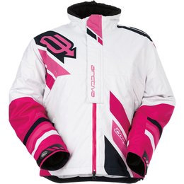 Arctiva Womens Comp Insulated Snowmobile Jacket White