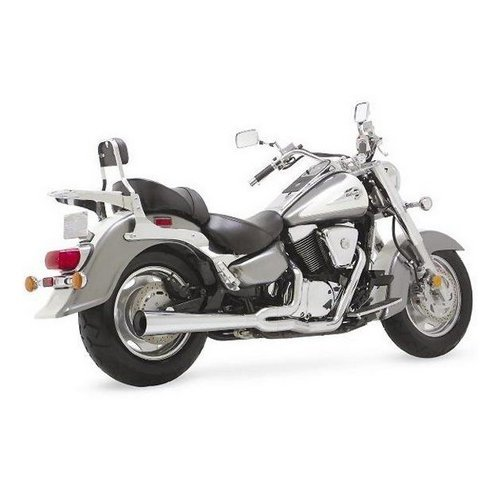 Vance & Hines Pro Pipe Exhaust Full System Chrome For Suzuki GS