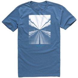 Alpinestars Mens Rush T-Shirt Blue