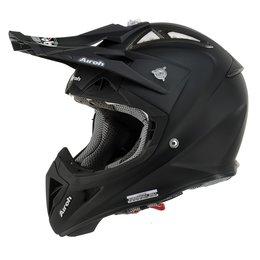 Matte Black Airoh Mens Aviator 2.1 Helmet 2014