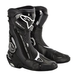 Alpinestars Mens S-MX SMX Plus Vented Motorcycle Riding Boots 2015 Black