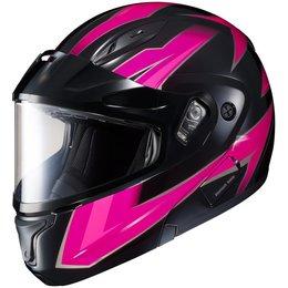 HJC Womens CL-Max II 2 Ridge Dual Pane Modular Snowmobile Helmet
