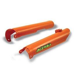 Acerbis Fork Covers Orange For KTM EXC MXC SX 00-07 Pair