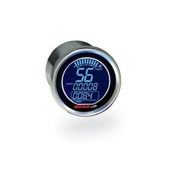 Koso DL Universal Electronic Speedometer Stainless