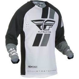 Fly Racing Mens Evolution DST Jersey Black