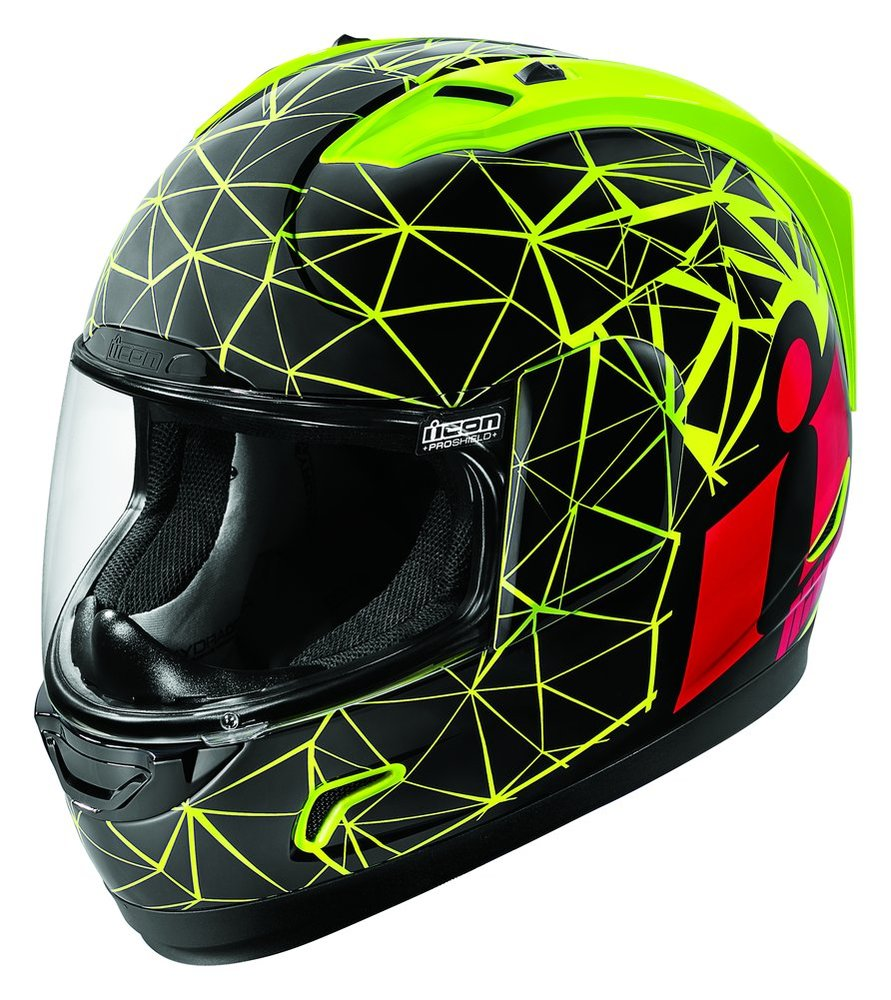 Discount Motorcycle Gear >> $150.00 Icon Alliance Crysmatic Full Face Motorcycle #204495