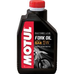 Motul Factory Line Line 100% Synthetic Fork Oil Light 5 W 1 Liter