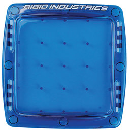 Rigid ATV Q-Series Polycarbonate Plastic Light Protective Cover Blue 10394 Blue