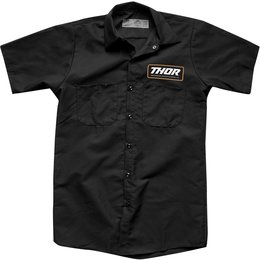 Thor Mens Standard Work Shirt Black