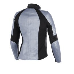 Frozen Blue Metallic Alpinestars Womens Stella Vika Leather Jacket 2014 Eu 40