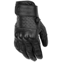 Black Brand Mens Protector Leather Gloves