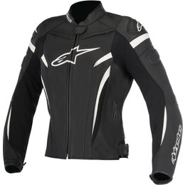 Alpinestars Womens GP Plus R V2 Armored Leather Performance Riding Jacket Black