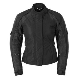 Black Fieldsheer Womens Lena 2.0 Jacket Plus