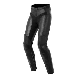 Black Alpinestars Womens Stella Vika Leather Pants 2014 Eu 38