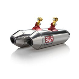 Yoshimura Stainless Steel RS-2 Slip On Dual Exhaust System F/ Can-Am 391502F550