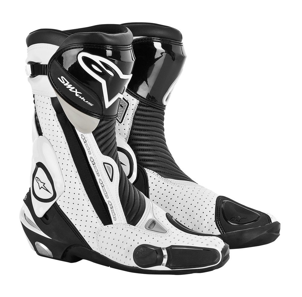 alpinestars mens s mx smx plus vented motorcycle riding boots 2015 black