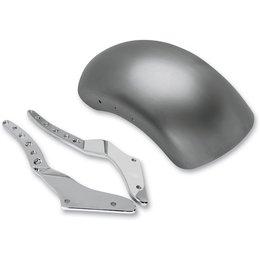 Steel Fender/chrome Struts Rsd Tracker Rear Fender Kit Chrome For Harley Softail 90-07
