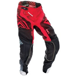 Fly Racing Mens MX Offroad Lite Hydrogen Riding Pants Red