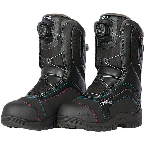 2c67f4ed2a9 Divas Womens Avid Technical BOA Insulated Waterproof Snowmobile Boots