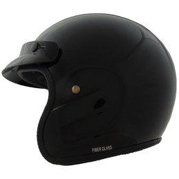 Vega Youth CO5 Jr. Open Face Helmet Black