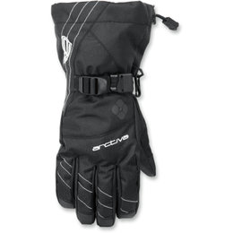 Arctiva Womens Pivot Insulated Waterproof Snow Gloves Black