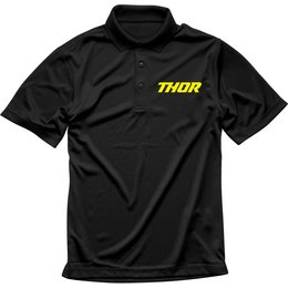 Thor Mens Loud Polo Shirt Black