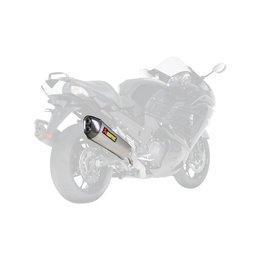 Akrapovic Racing Line Complete Exhaust Systems For Kawasaki Ninja ZX14R Silver