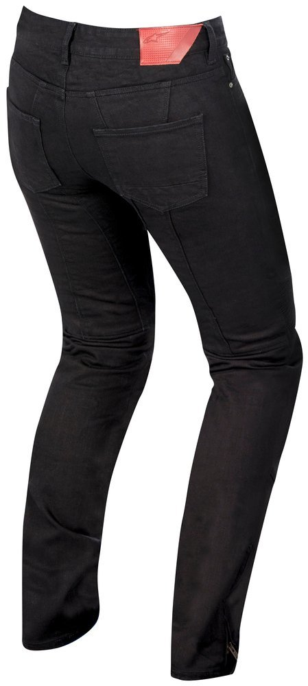 49600564e489 ... Alpinestars Womens Stella Riley Armored Denim Riding Pants Black