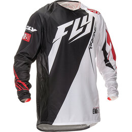 Fly Racing Youth Boys Evolution 2.0 Switchback Jersey Black