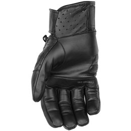 Black Brand Mens Protector Leather Gloves Black