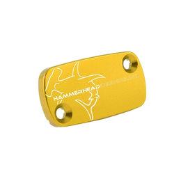 Hammerhead Cap For Front Brake Master Cylinder Gold For Honda CR80R/85R CRF150F