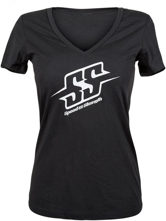 82a20d3a8 Speed & Strength Womens Comin' In Hot Deep V-Neck Graphic T-Shirt ...