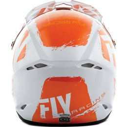 Fly Racing Kinetic Burnish Helmet Orange