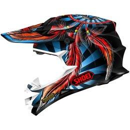 Red Shoei Vfx-w Vfxw Grant 2 Helmet