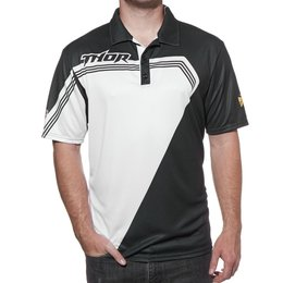 Black Thor Mens Bend Pit Polo 2015
