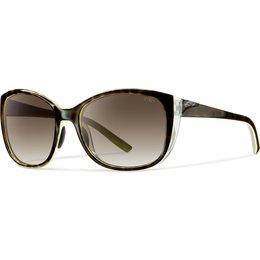 Smith Optics Womens Lookout Polarized ChromaPop Sunglasses Brown