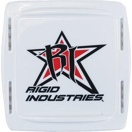 Rigid ATV Q-Series Polycarbonate Plastic Light Protective Cover White 10396 White