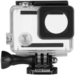 GoPro Standard Housing Kit With Std/Sklt/Touch Backdoors For Hero3/+/4 Clr Blk Transparent
