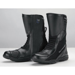 Black Tour Master Solution Air Waterproof Leather Road Boots Us 7 Eu 40