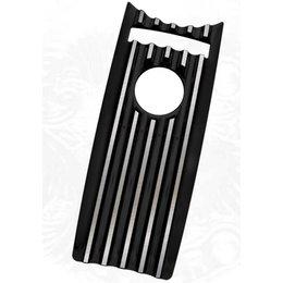 Black Covingtons Dash Insert For Harley Flhr Road King 08-10