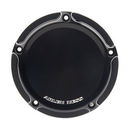 Arlen Ness Beveled Derby Cover Black For Harley-Davidson Twin Cam